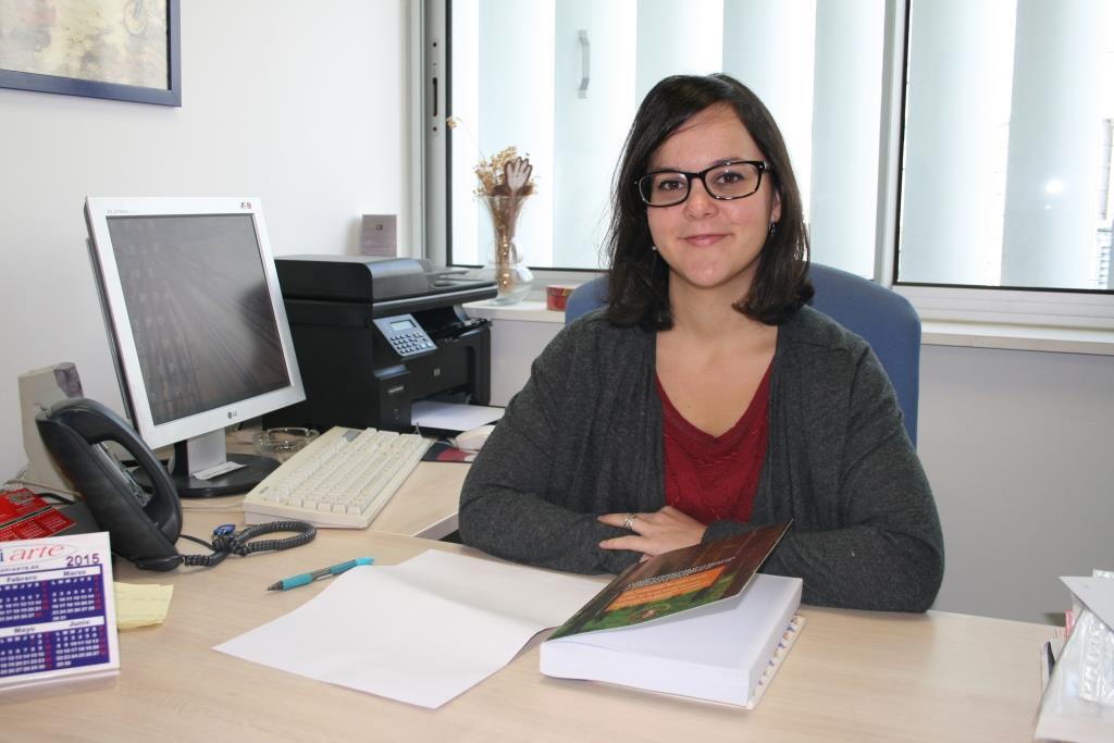 La investigadora Inmaculada Martínez García