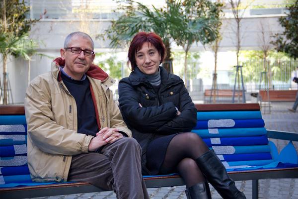 José González Monteagudo y Mayte Padilla Carmona, investigadores de la Facultad de CC de la Educación de la US.