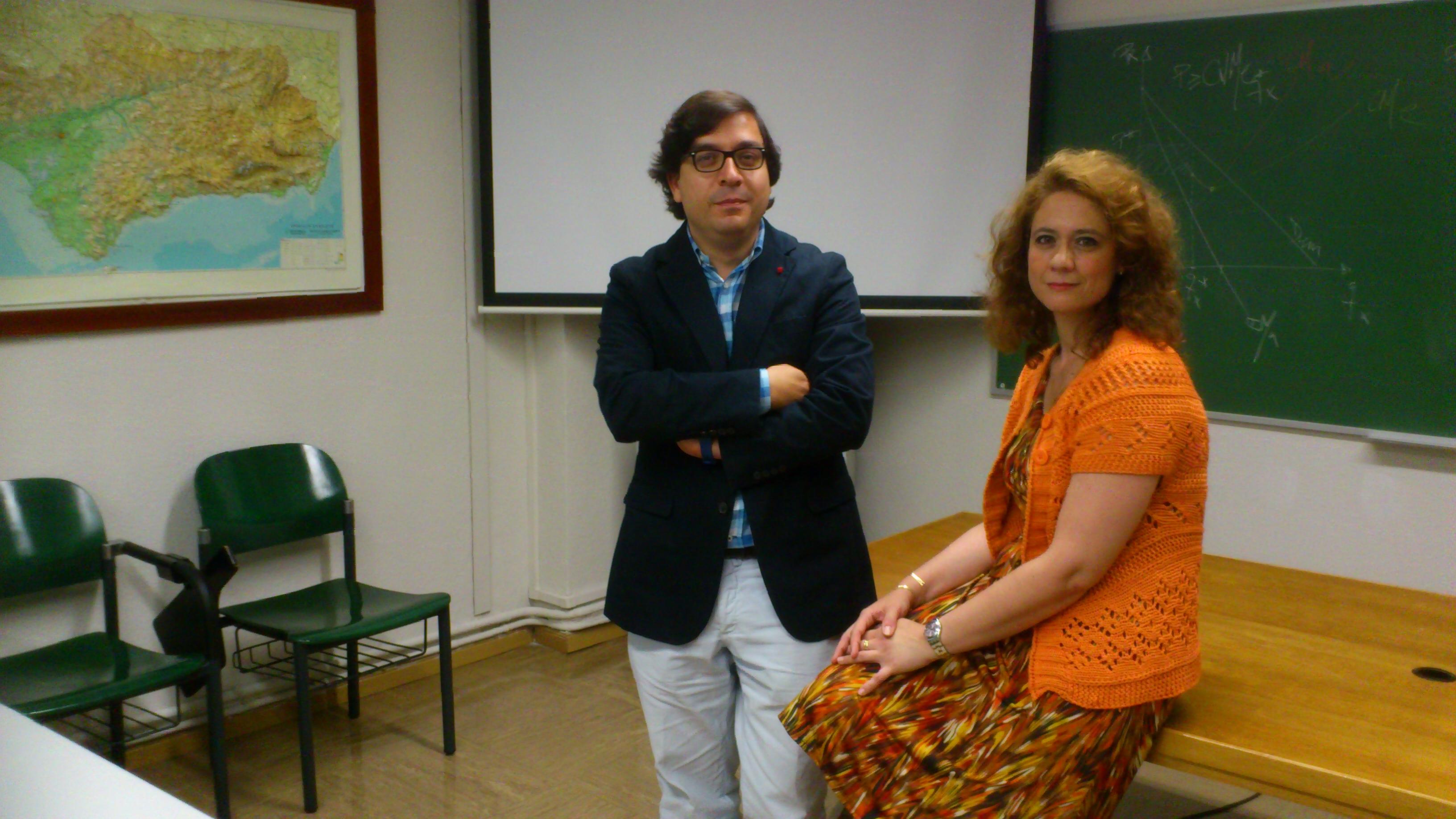 José Ignacio Castillo y Mercedes Castro Nuño