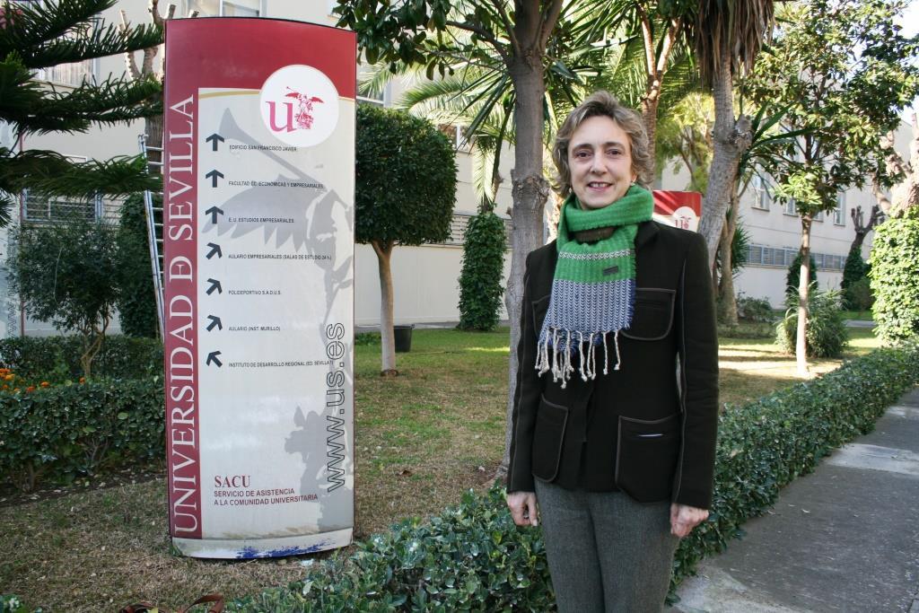 La investigadora Lourdes Munduate