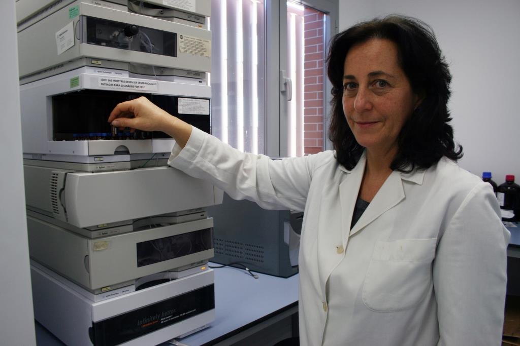 La investigadora Isabel maría Vicario