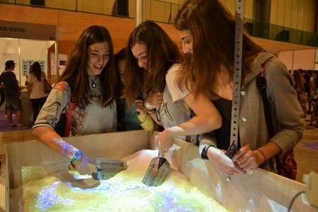 Kinect Sandbox Fab Lab Sevilla