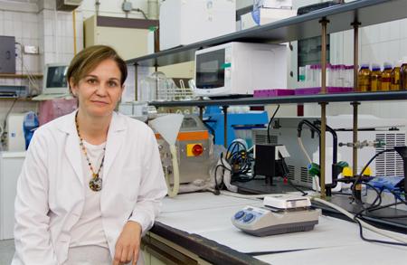 Lucía Martín, Investigadora principal de la patente