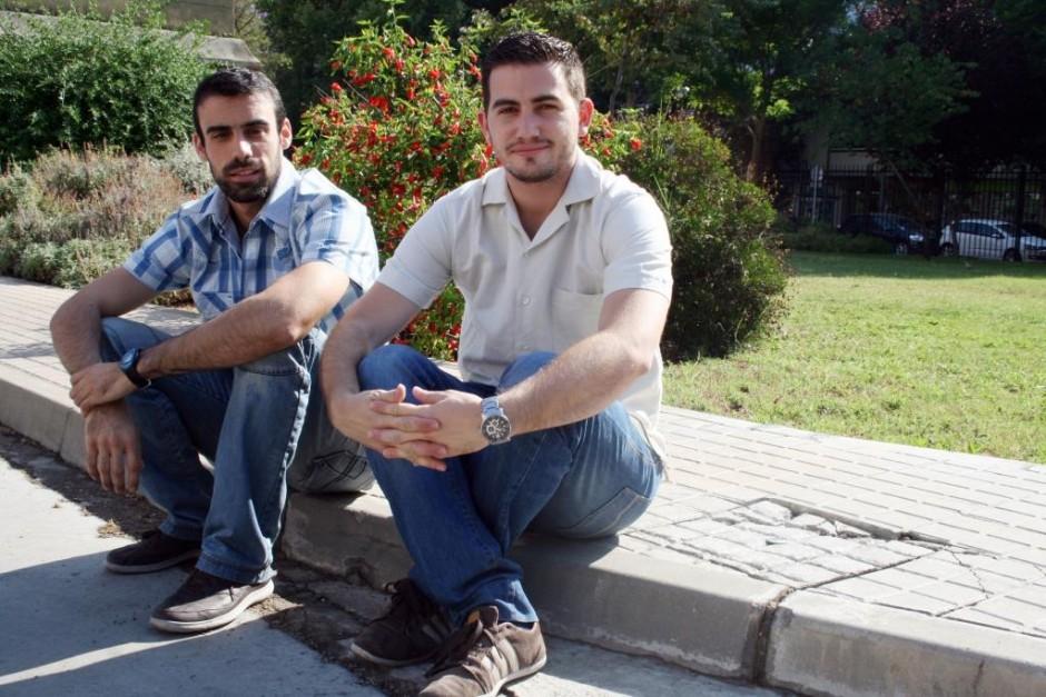 Antonio García, fundador del proyecto, y José Luis Palacios.