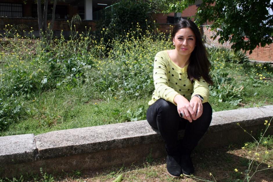 La investigadora Rocío Pelayo García