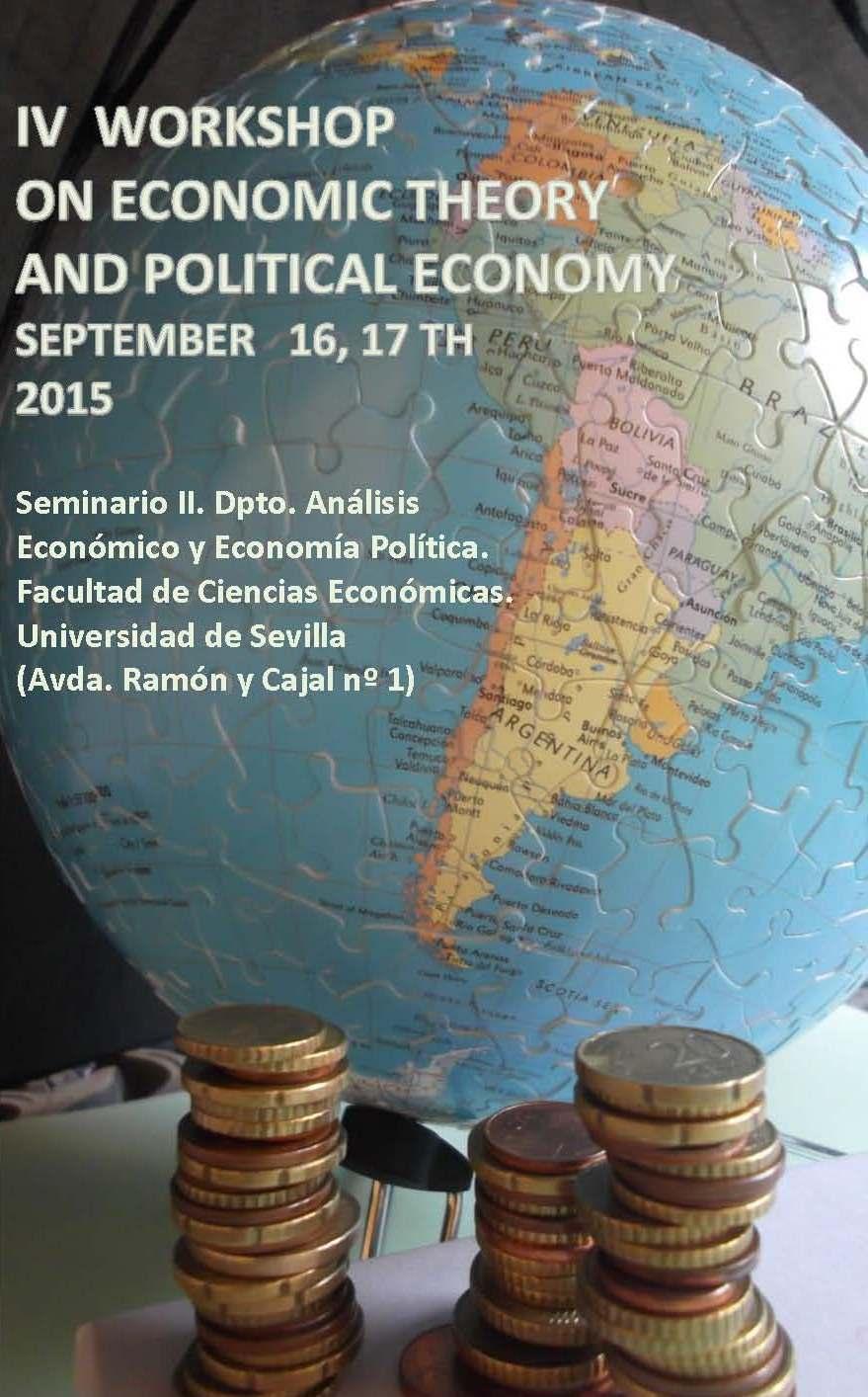 Seminario del Grupo de Investigación de Teoría Económica y Economía Política