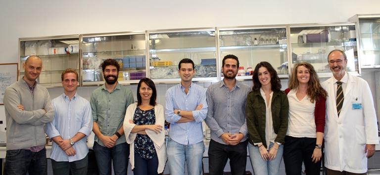 Mario D. Cordero (izq) junto a sus compañeros de investigación