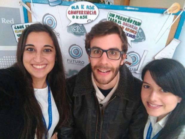 Participantes de la Jornada Futuro Científico Español