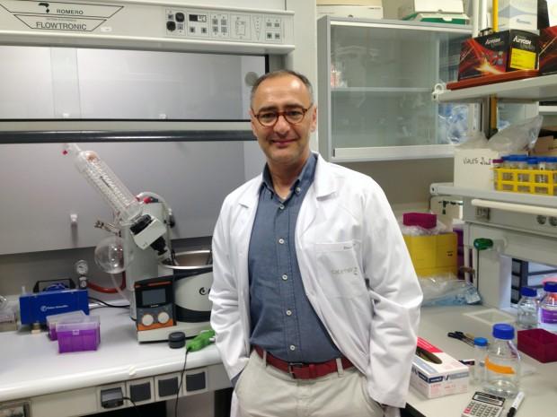 El investigador David Pozo