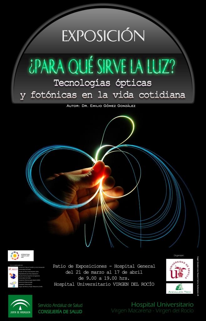 Cartel Exposición Luz