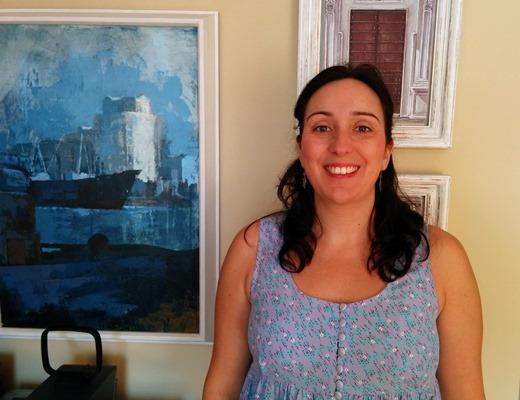 La investigadora Beatriz Pontes