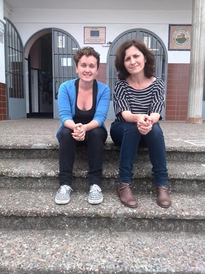 Noelia Muñoz y Virginia Sánchez