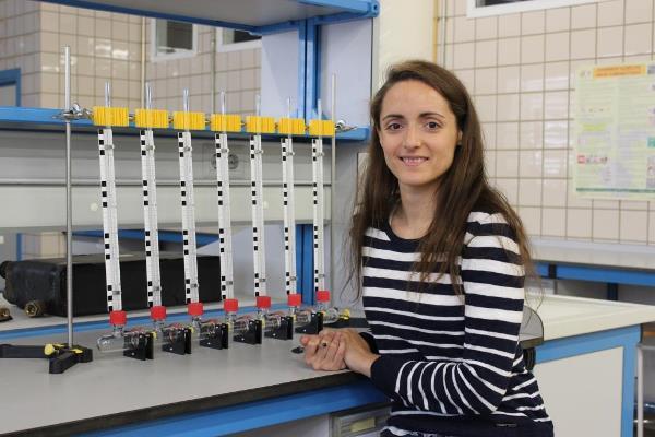 La investigadora Sara Moreno