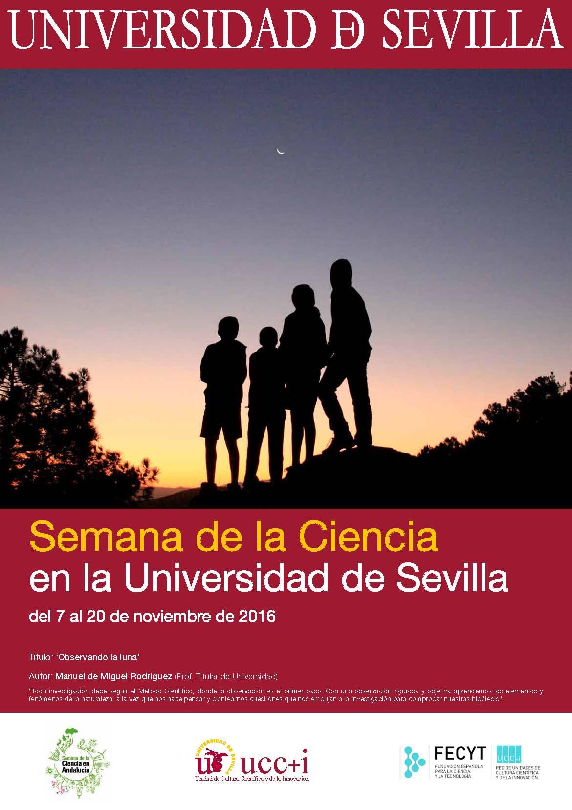 Cartel Semana de la Ciencia US 2016
