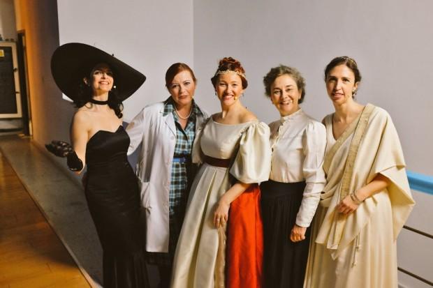 Protagonistas de 'Científicas: pasado, presente y futuro'