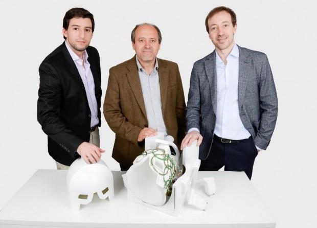 (De izq a drch) Alberto Cantón, Manuel Freire, Jesús Tornero