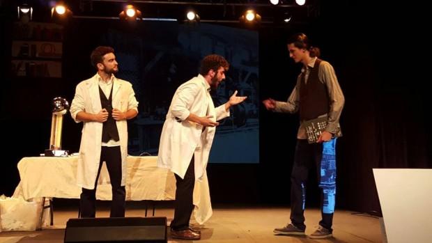 Teatro 'Edision vs Tesdla' en el CICUS 2016
