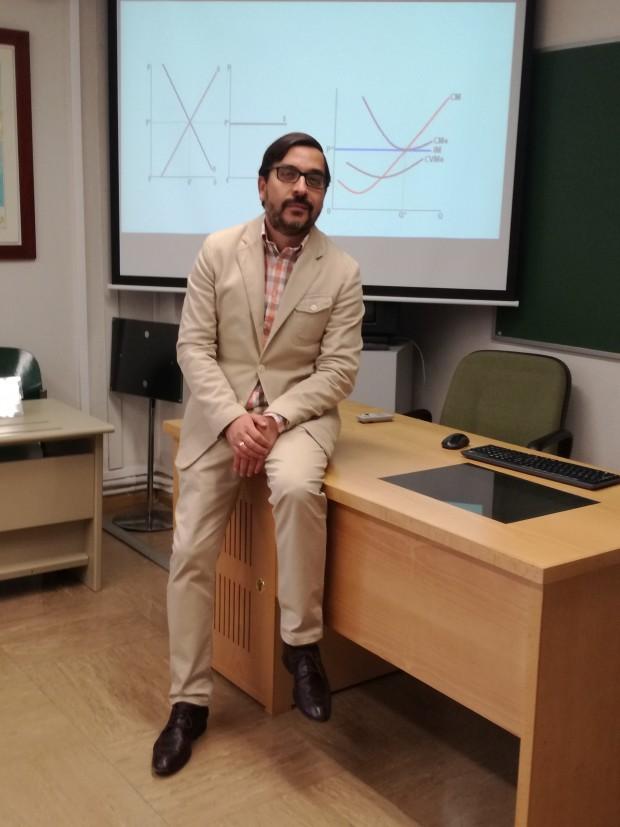 El investigador José Ignacio Castillo