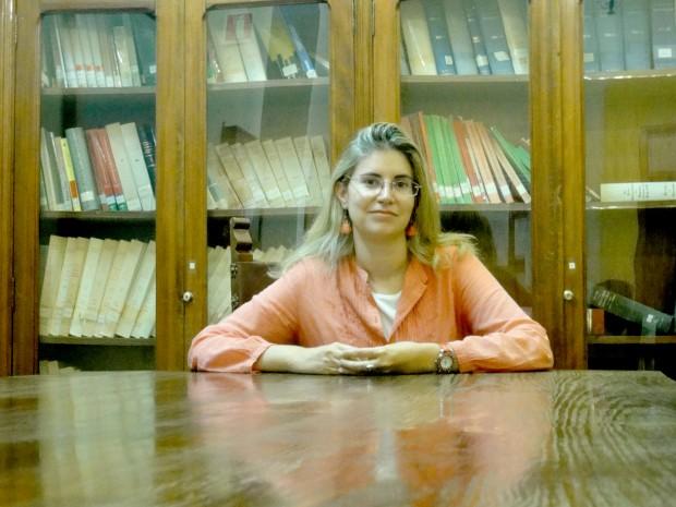 La investigadora Ana Mancera