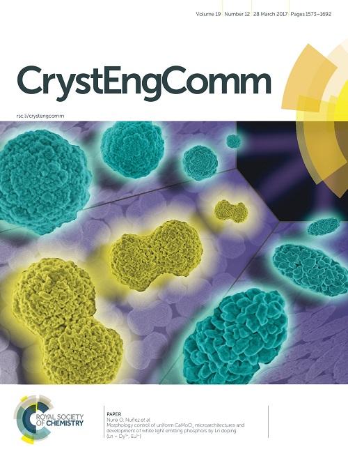portada de Crystal Engineering Communications