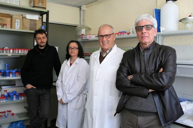 Investigadores responsables del proyecto sobre los fosfoyesos de Huelva