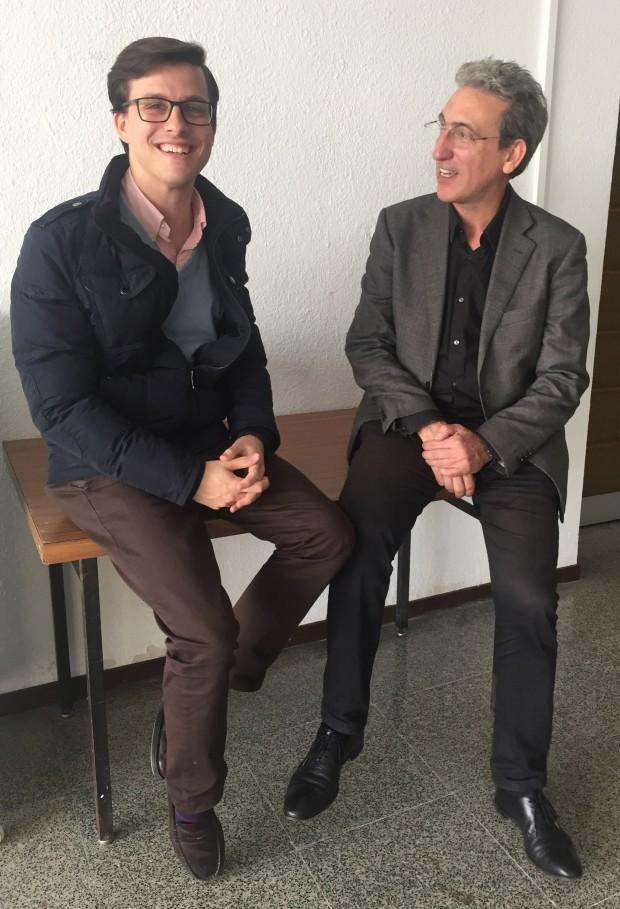 Pablo Valero y Santiago Quesada