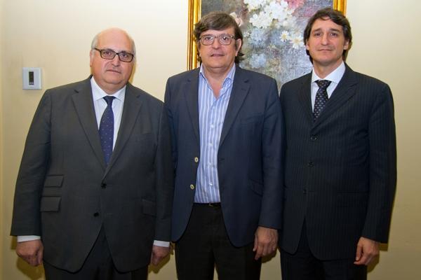 Guillermo Machuca Portillo, José Luis Gutiérrez Pérez y Daniel Torres Lagares