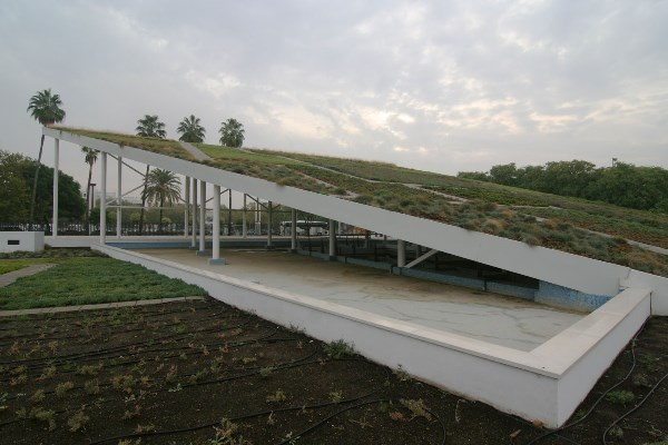 Techo verde en Lipasam