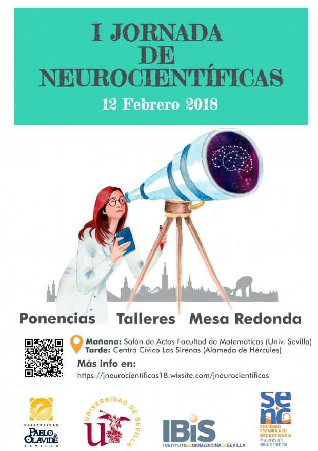 Cartel Neurocientíficas Sevilla