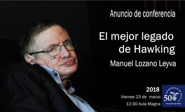 Conferencia homenaje al científico Stepehn Hawking