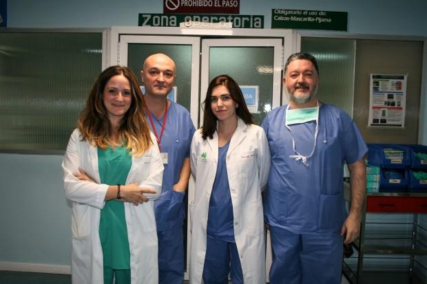 María J. Mayorga Buiza, Javier Márquez Rivas, Marisol Bueno y Emilio Gómez González