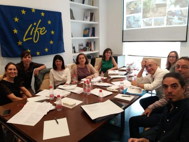 Encuentro Proyecto Life Melilla