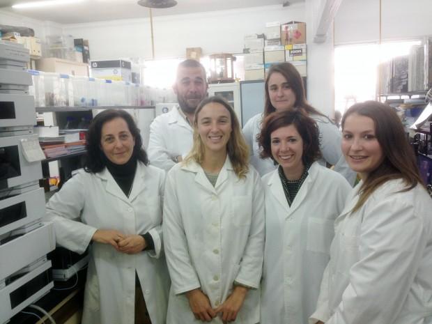 Miembros del grupo de investigación Color y Calidad de los Alimentos