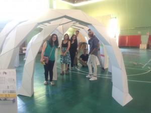 Inaugurada la exposición sobre pabellones sostenibles en la US