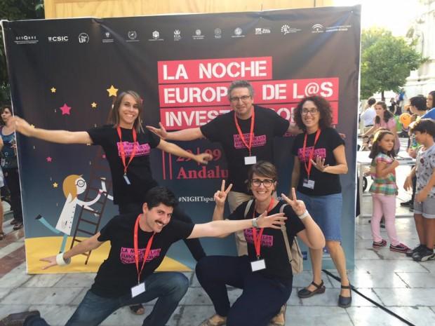 Miembros del Herbario de Sevilla en la #NightSpain