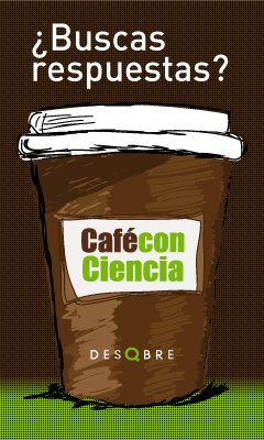 Logo Café con Ciencia