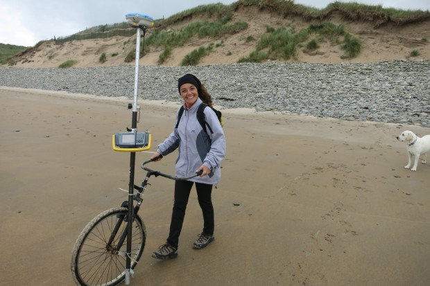 Investigadora en ciencias costeras