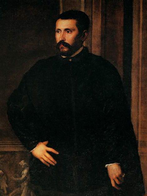 Diego Hurtado de Mendoza, en un retrato de Tiziano