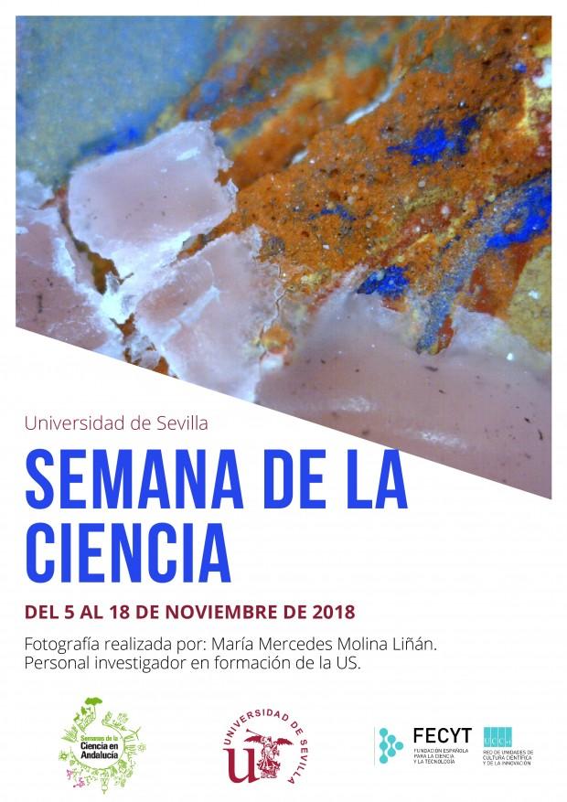 Cartel Semana de la Ciencia US- 2018