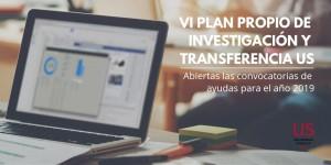 Convocatorias de ayudas para Investigación y Transferencia de la US 2019