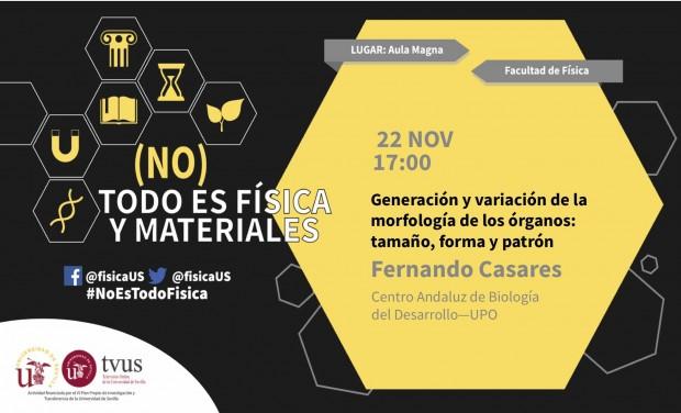El investigador Fernando Casares participa en #[No]TodoesFísica