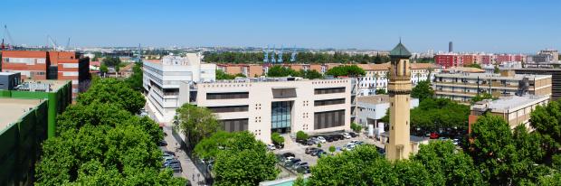 Panorámica del edificio CITIUS