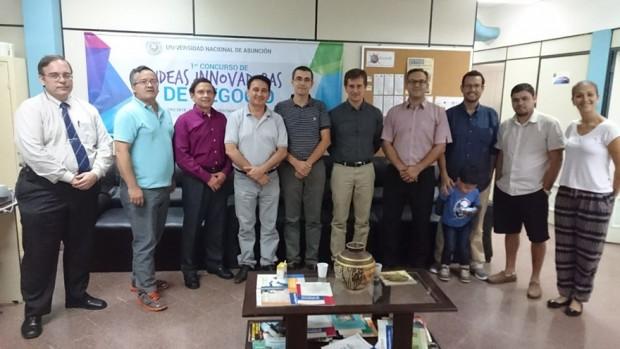 Miembros del proyecto de investigación 'La Innovación en las Pymes de Paraguay: factores determinantes, tipología y resultados'