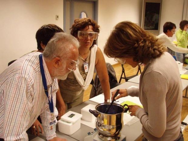 Talleres del  X Concurso de Cristalización en la Escuela