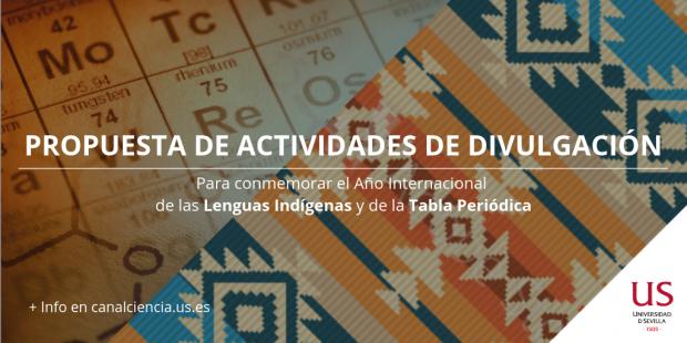 Año Internacional de La Tabla Periódica y de las Lengus Indígenas en 2019