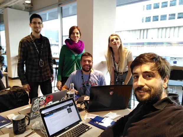 Miembros del proyecto Galaxy Quest