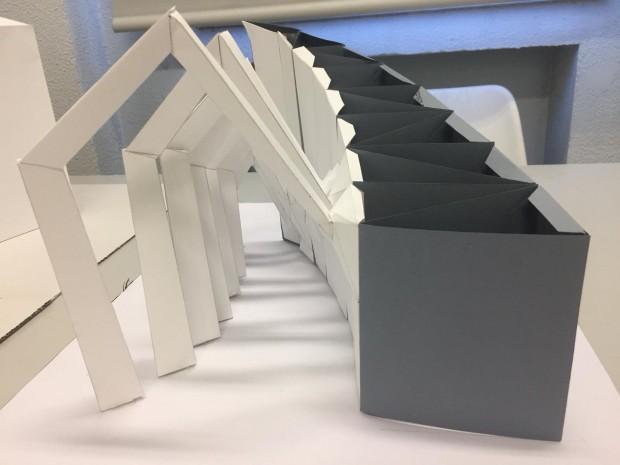 Pieza de la exposición 'Divulgación y transferencia de objetos arquitectónicos a través de procesos de fabración digital'