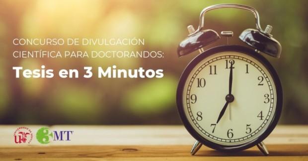 Concurso 'Tesis en 3 Minutos'