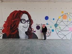 Mural en la UPV